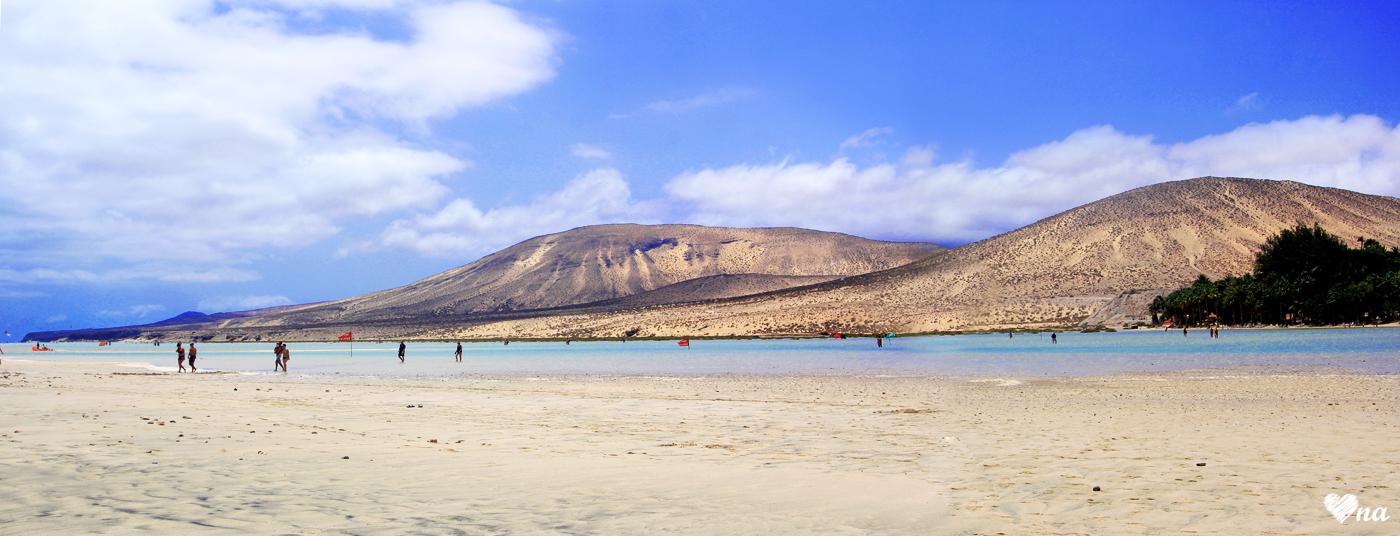 #32 Fuerteventura - Laguna Sotavento i plaża Costa Calma