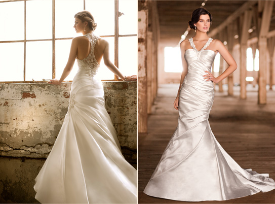 The button bride for Wedding dress with back detail