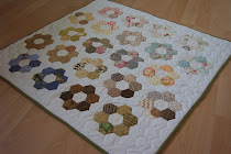 Hexagon quiltje