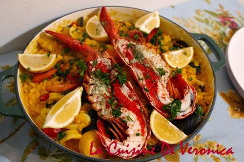La Cuisine De Veronica 西班牙海鮮飯
