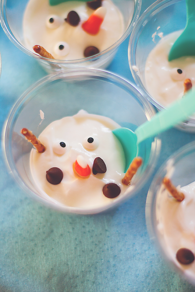 melted olaf