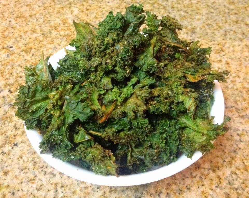 how to cut up kale