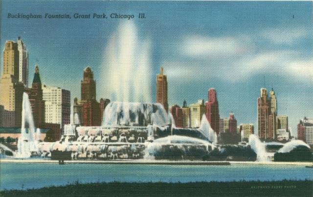 Chicago dawniej i dziś + coś dla postcrossingowców