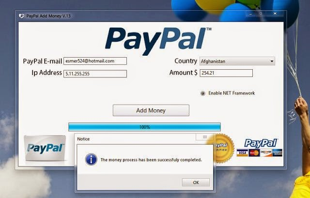 PayPal Money Generator 2015