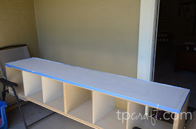 TPcraft.com: Ikea Hack {Rolling Train Table}
