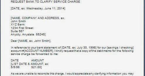 Request Letter for Clarification