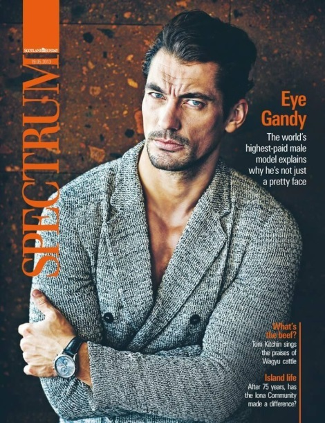 David Gandy Spectrum Magazine