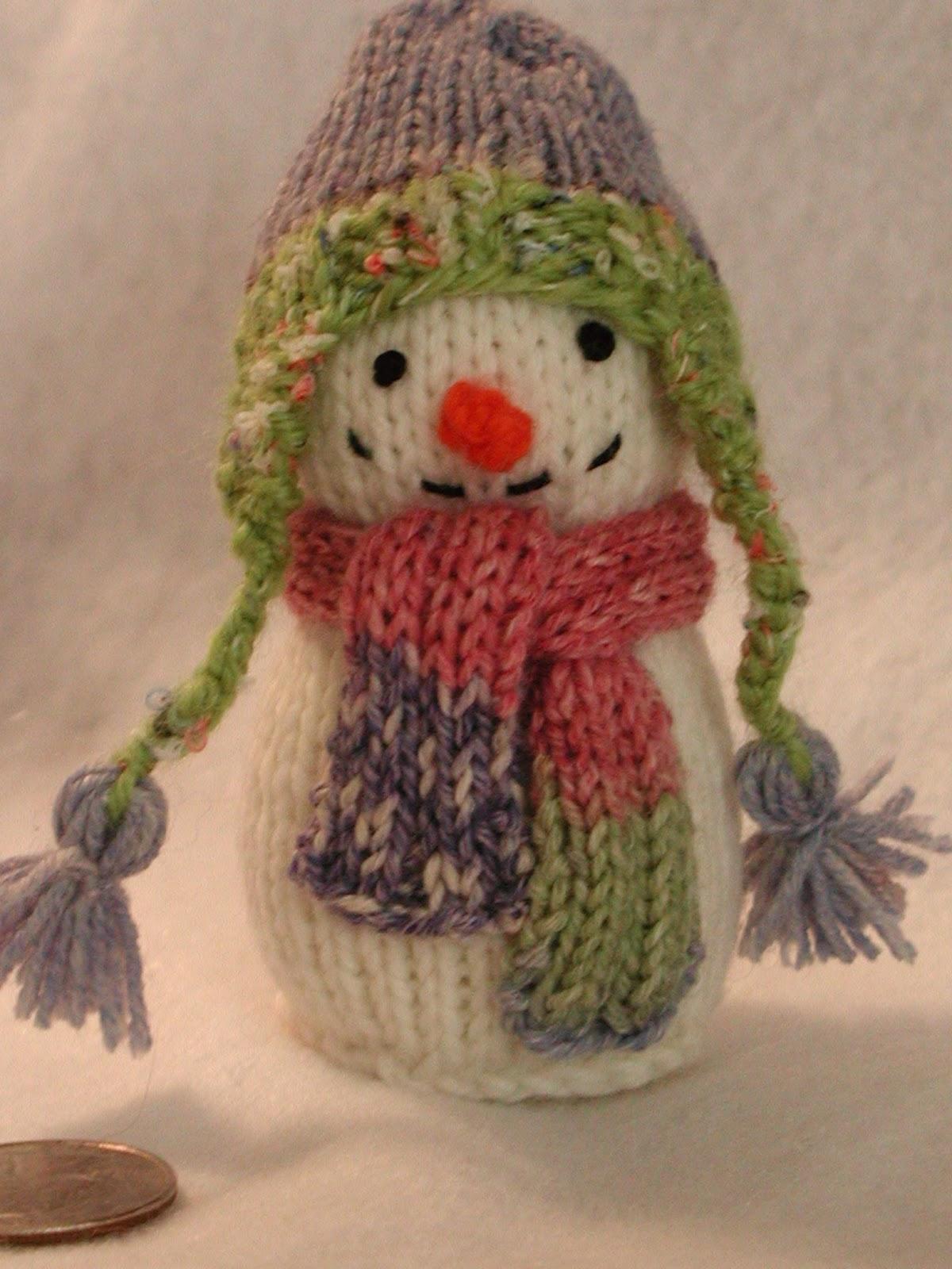 Fiddlesticks - My crochet and knitting ramblings.: More Snowman Love!