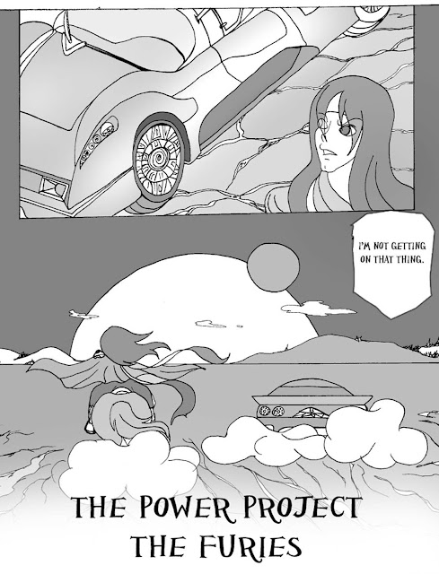 The Power Project the Furies, manga,teresita blanco