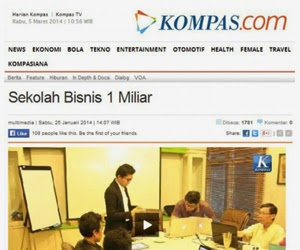 Liputan Kompas Kelas Ilmu Bisnis Online