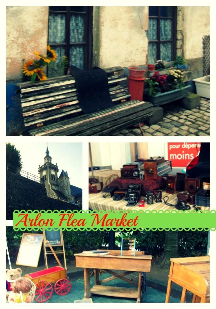 Arlon Flea Market 3.5 hours drive