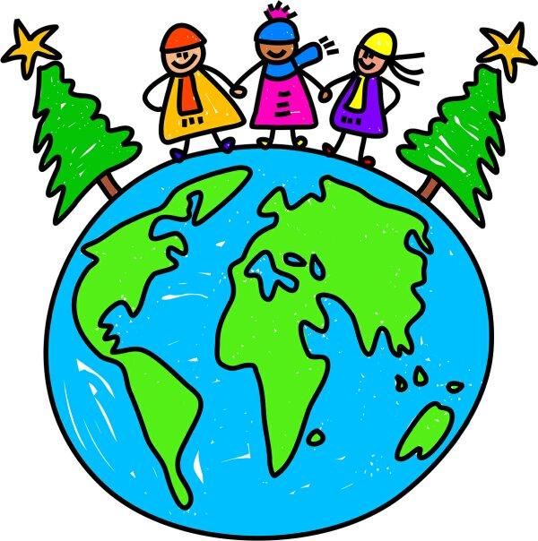 I heart primary music christmas around the world