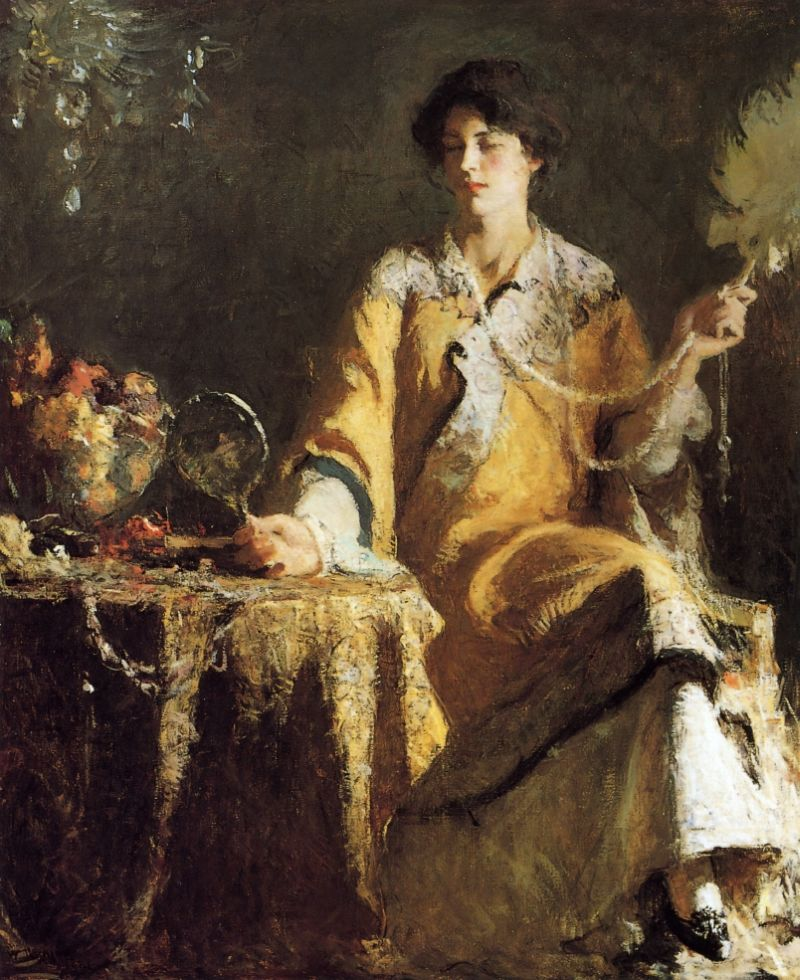 Great painters art galleries frank weston benson online for Online art gallery paintings