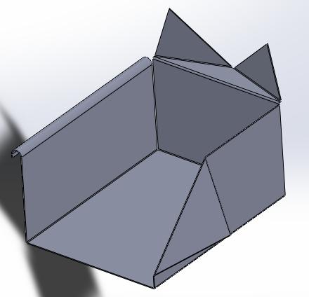 Tutoriales de solidworks - Muebles de chapa metalica ...