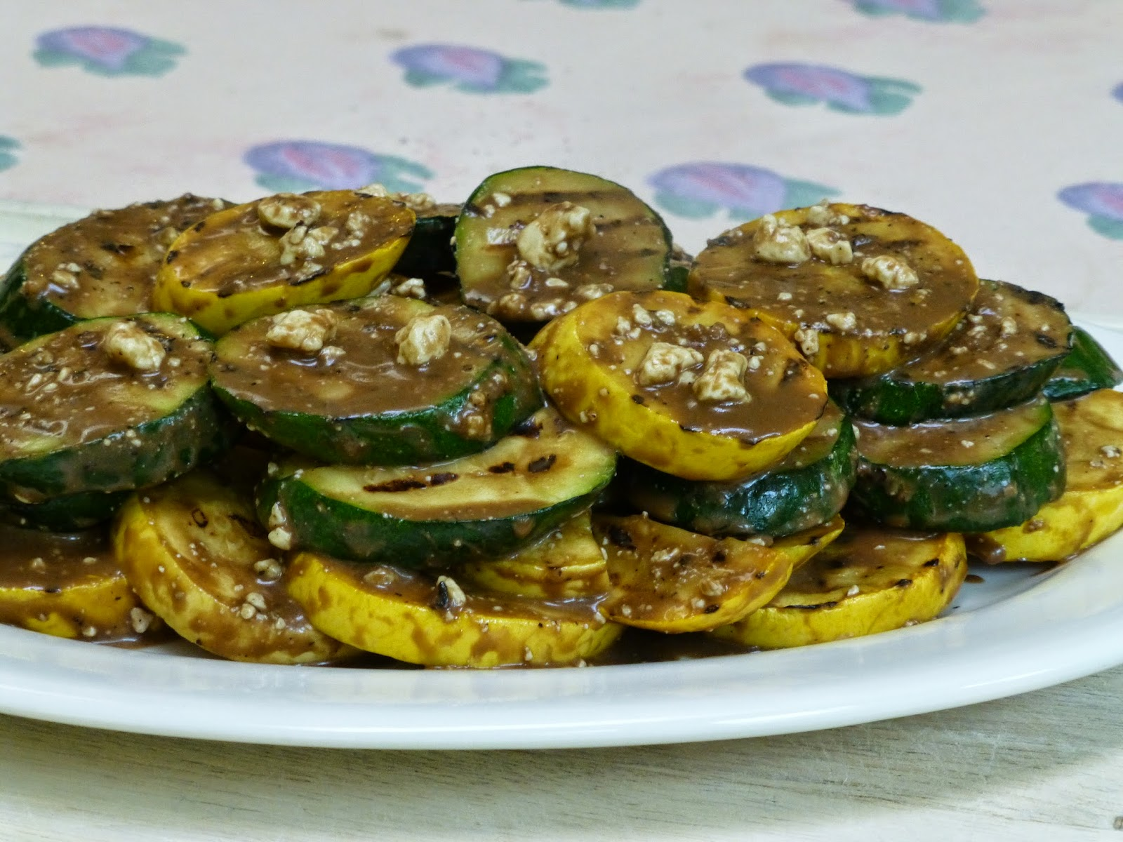 COOK WITH SUSAN: Grilled Zucchini and Summer Squash with Balsamic ...