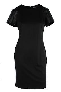 afrodit siyah uzun elbise modeli