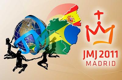 Jovens Missioários partirão hoje de Campinas/SP, rumo à Jornada Mundial da Juventude, em Madri, Espanha.