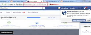 Alamat Halaman Fanspage
