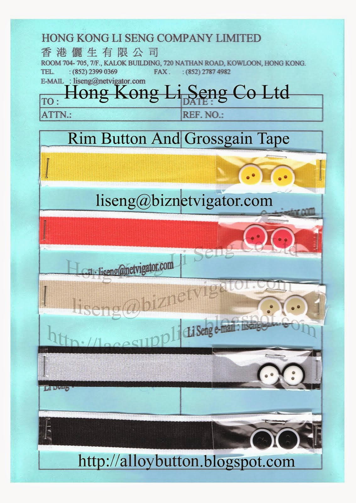 Grosgrain Tape Grosgrain Ribbon Wholesaler Manufacturer Supplier - Hong Kong Li Seng Co Ltd