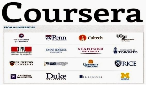 Ir a la página principal de Coursera