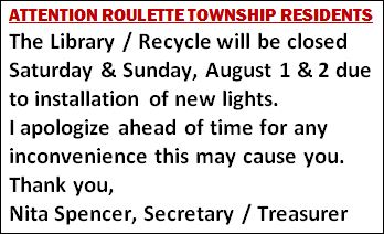 8-1/2 Roulette Library/Recycle Closed