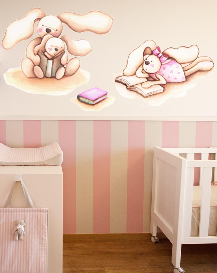Decopared vinilos para beb s - Decoracion infantil paredes ...