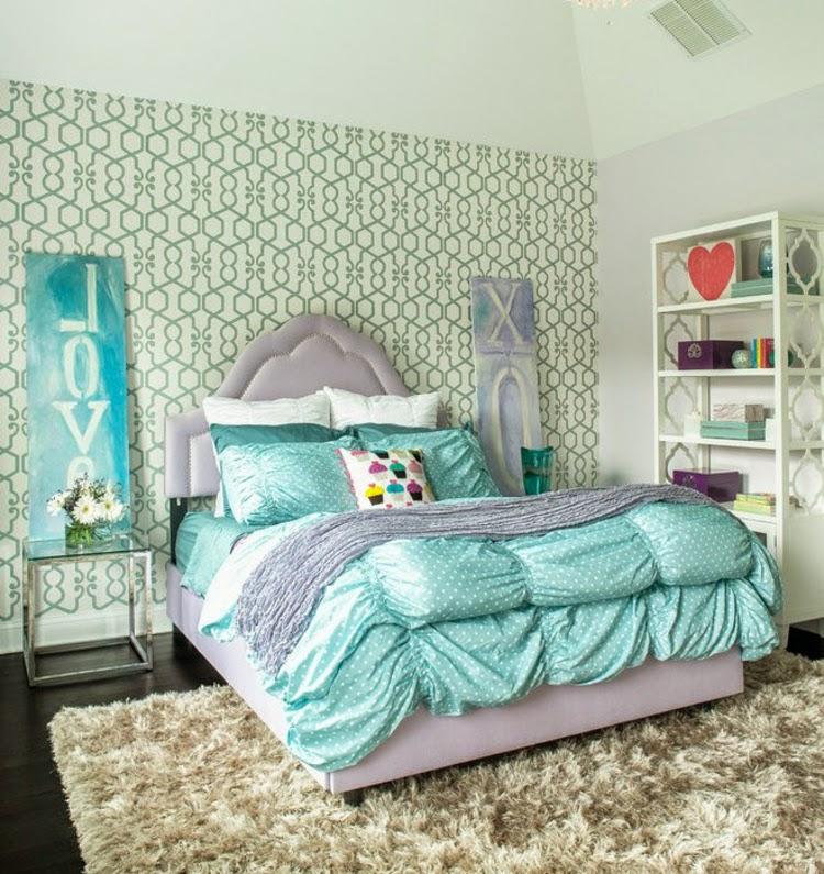Dormitorios juveniles para chicas dormitorios colores y - Adornos habitacion juvenil ...