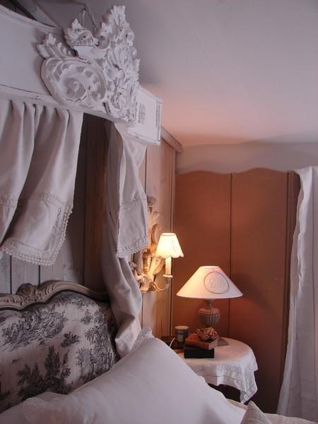 Art d co chambre coucher romantique baldaquin - Ciel de lit chambre adulte ...