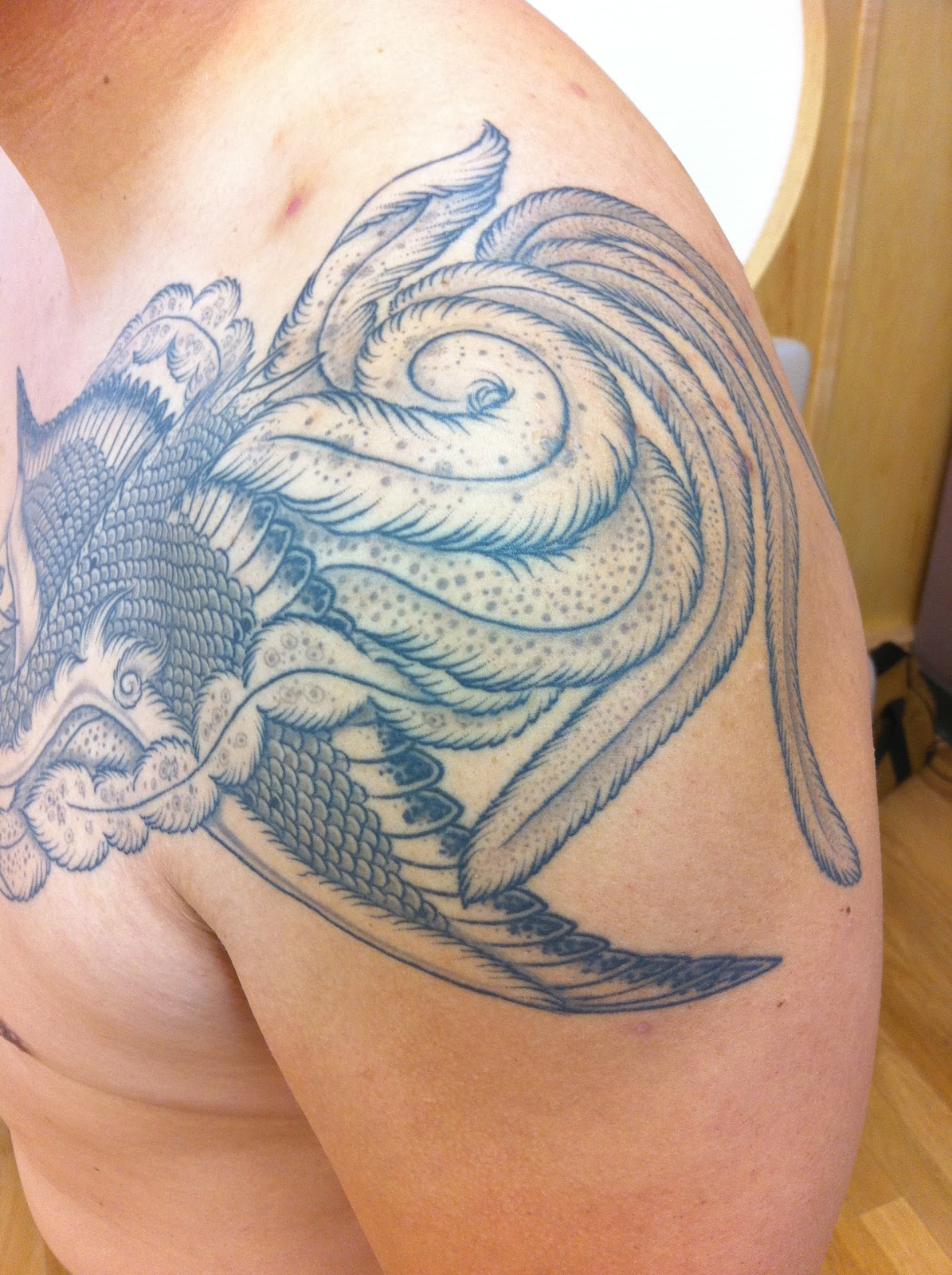 Born to tattoo ho o birdman birdwoman for Birdman 5 star tattoo
