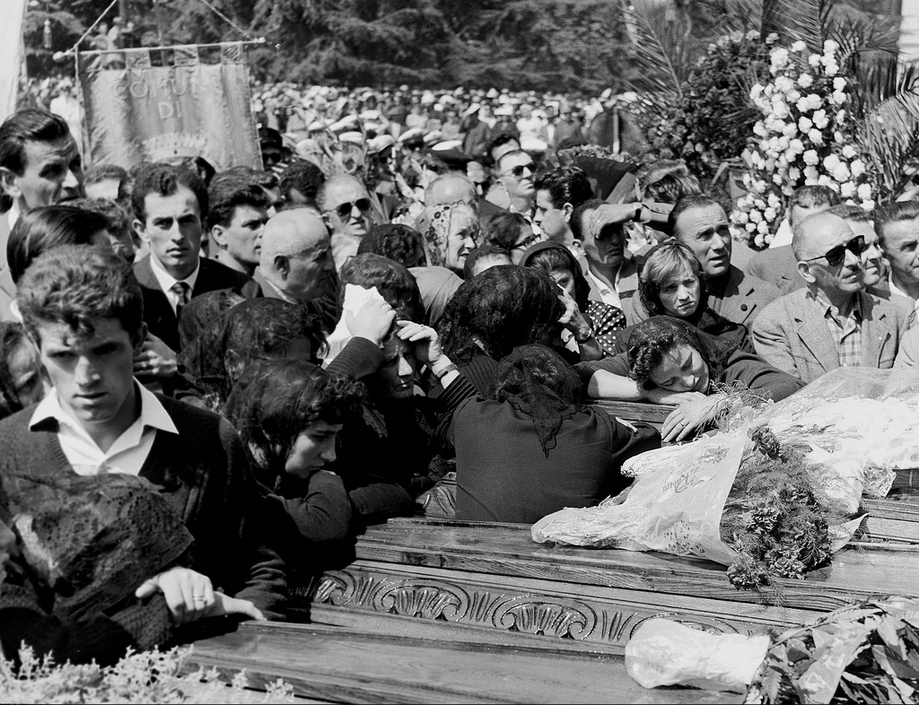 Reggio Emilia 1960 - funerali