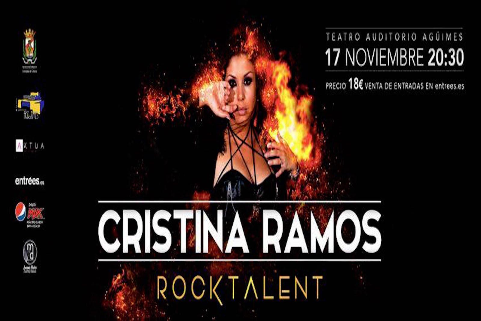 """Cristina Ramos y """"Rock Talent"""" en Agüimes"""