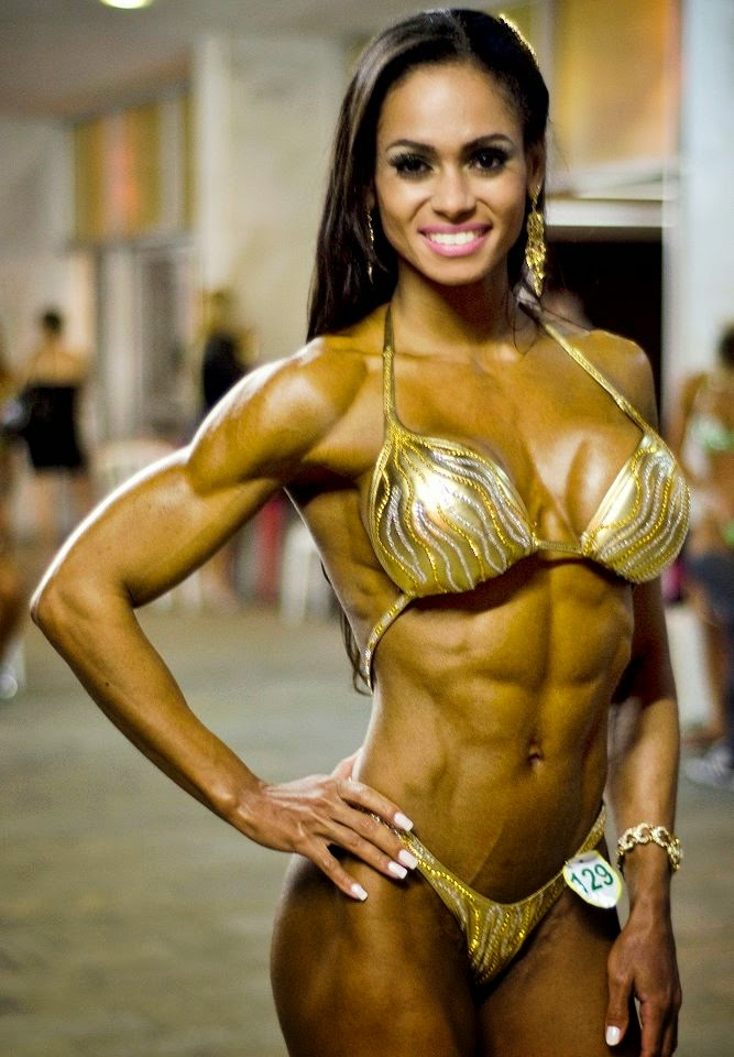 Denise Rodrigues-hottest fitness models in the world