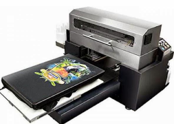 Mesin digital printing untuk kaos