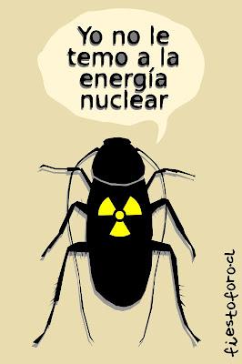 No tengo miedo - caricatura radioactividad