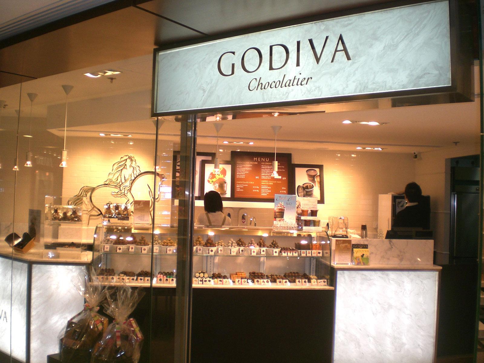 Godiva chocolate k sharif godiva finest belgian for Go diva