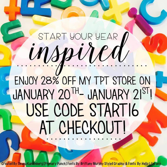 Fern Smith's Classroom Ideas Save 28% at TeachersPayTeachers Today Before Midnight!