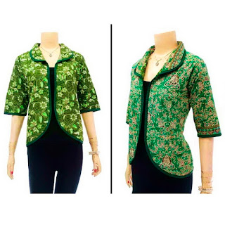 DBT2631 Model Baju Blouse Batik Modern Terbaru 2013