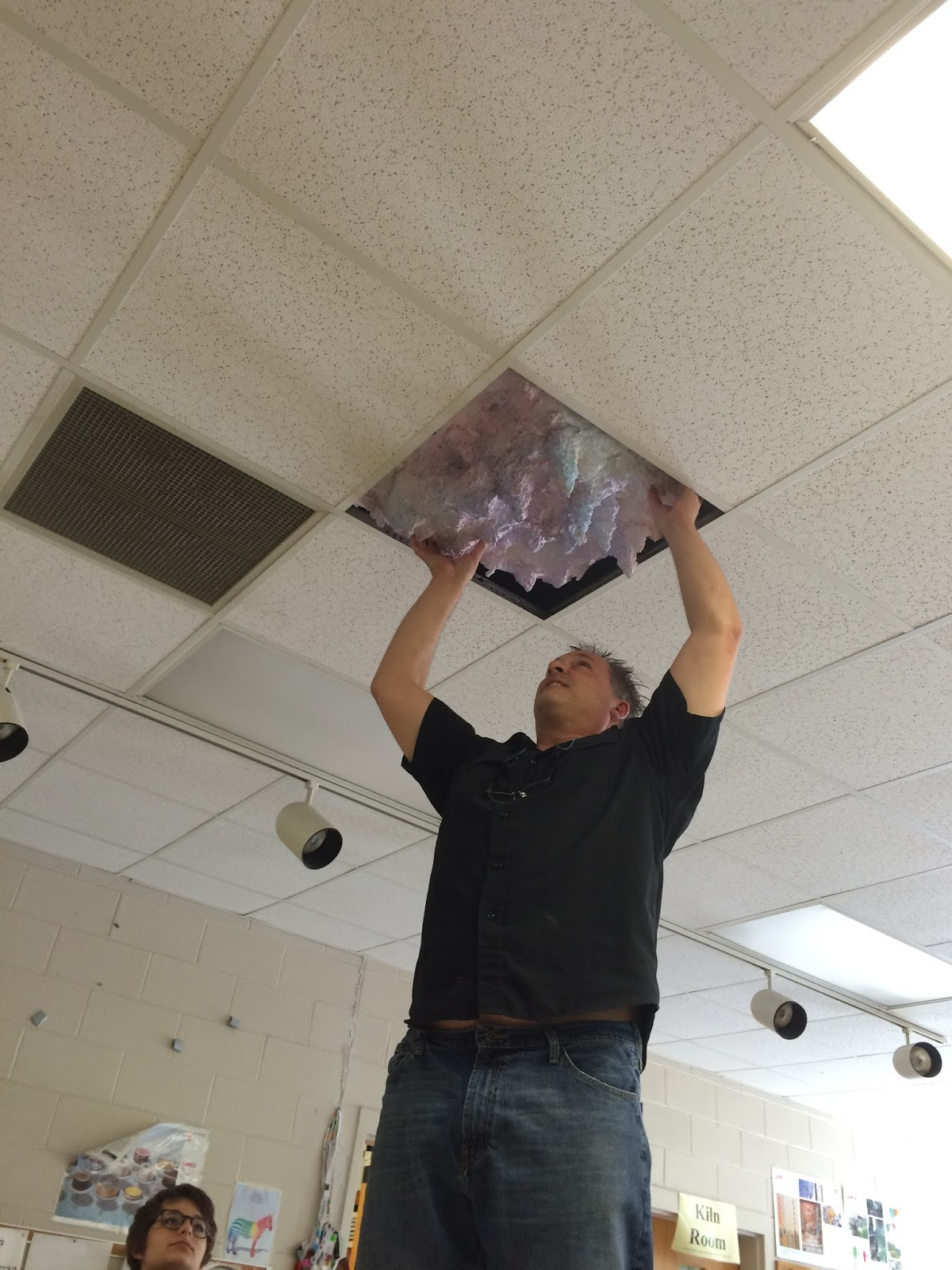 My art june 2015 for my second piece of art work i chose thisceiling tile replacement thing the first artistic behavior i demonstrated while working on this piece is dailygadgetfo Gallery