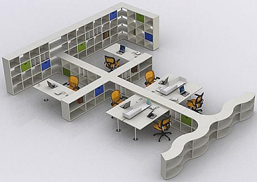 Dise o de oficinas flexible y ajustable a nuestro gusto for Oficinas modulares