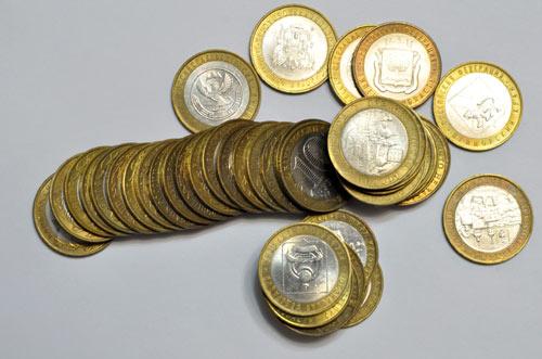 Список юбилейных биметаллических монет 10 рублей