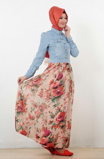 robe-florale-hijab-2015