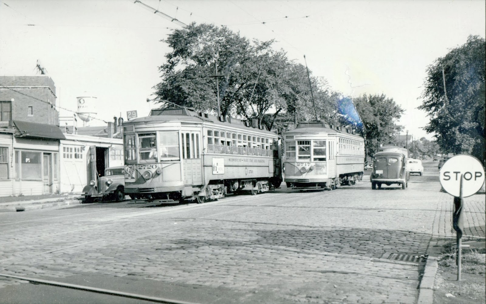 Lock 15 East: The 29 Public Service Trolley to Bloomfield