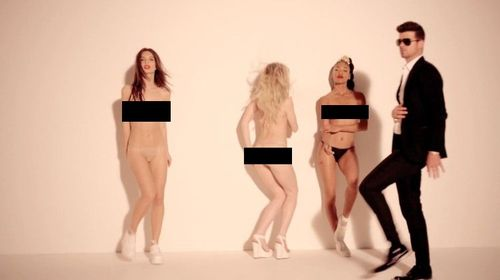blurred lines screen capture