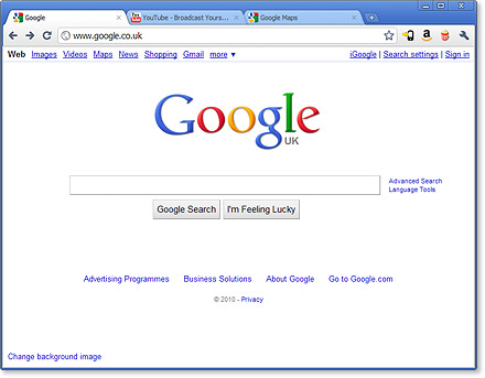 Google Chrome is a browser that combines a minimal design with