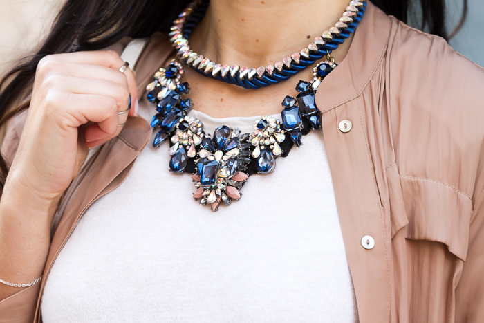 Accessories trend Statement Necklace style Luxury Versailles by MOKKA