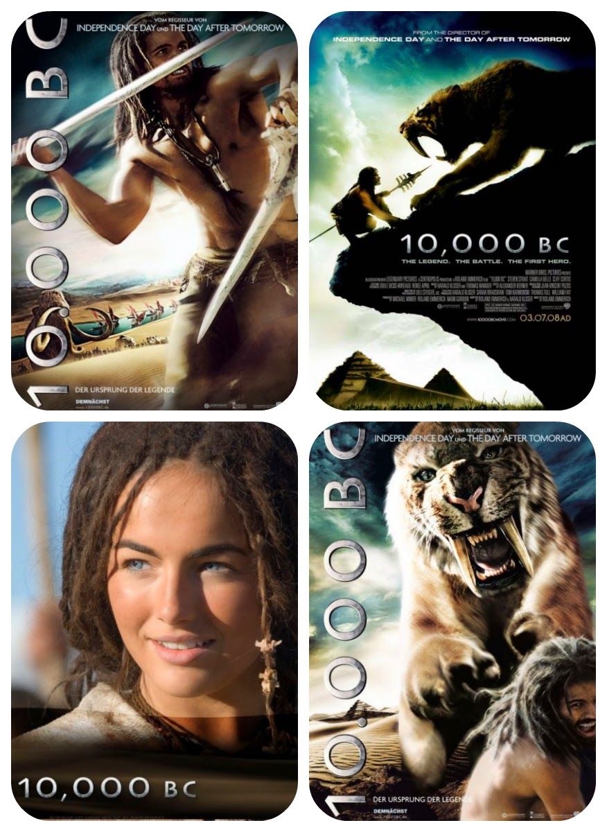 10,000 BC Movie HD 1080p Trailer Captures