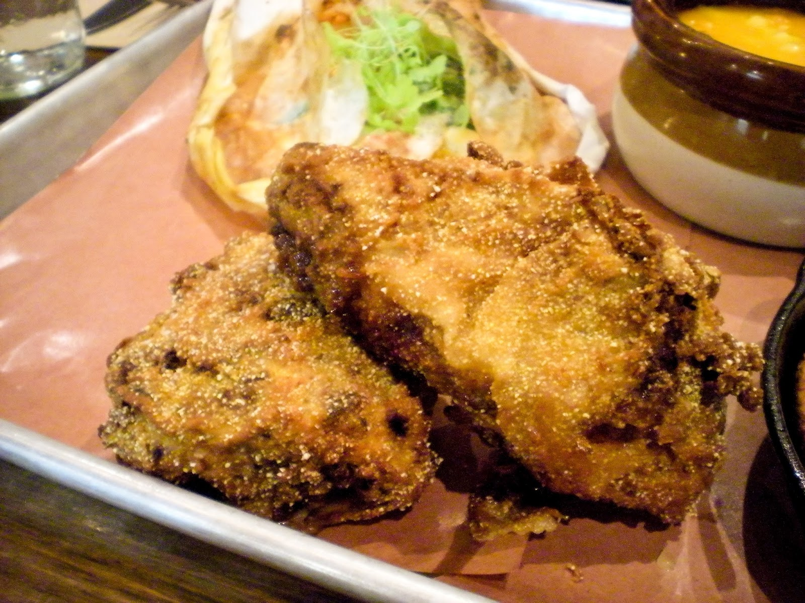Buttermilk Fried Yardbird served with Pepper Vinegar Sauce