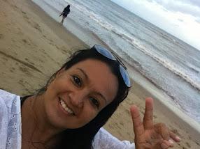 Caminhada na praia! Amo!
