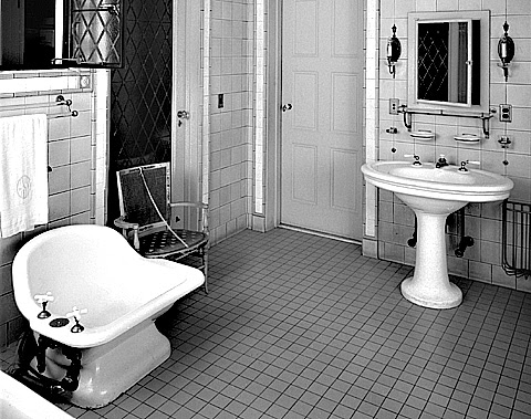 The vintage era what 39 s that for What s new in bathrooms