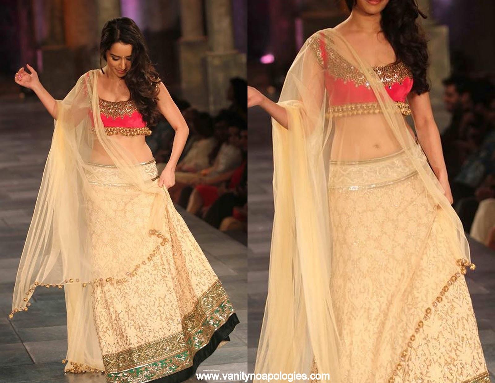 Shraddha Kapoor at Mijwan Sonnets Fashion Show